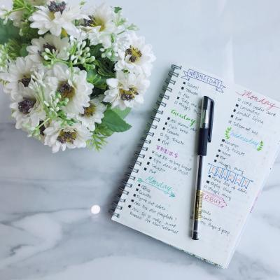 Notepad Flowers